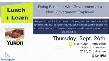 Lunch and Learn: Doing Business with Government as a Non-Government Employee