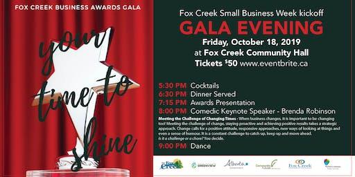 Small Business Week - Gala Evening, Fox Creek