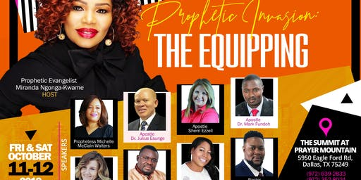 Prophetic Invasion: The EQUIPPING