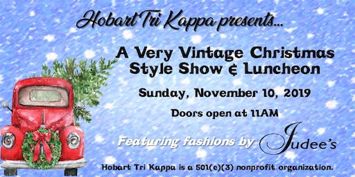 Hobart Tri Kappa Annual Style Show and Luncheon