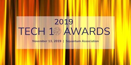 The 2019 Tech10 Awards tickets