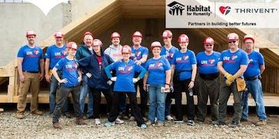 Faith Build with Habitat for Humanity of Hillsborough County: Truss Raising