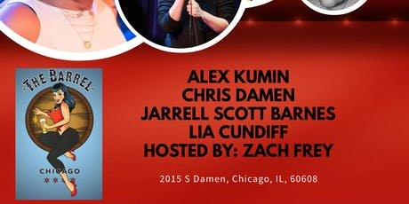 Stand Up at The Barrel: Alex Kumin tickets