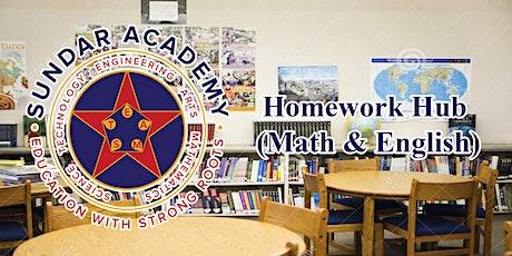 Homework Hub (Math & English) - Turlock tickets