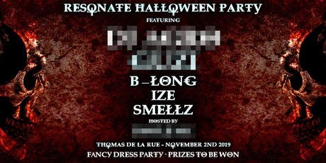 Resonate's Halloween Party tickets