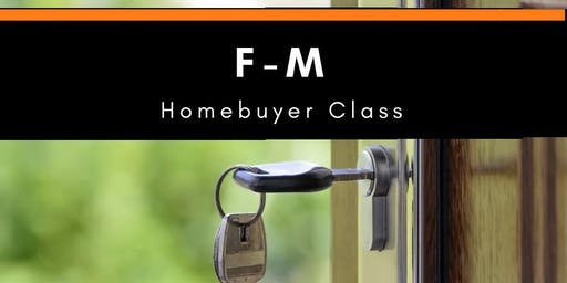 F-M Homebuyer Class - October