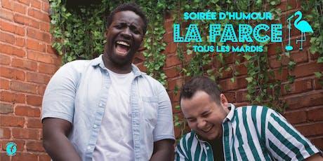 La Farce / Soirée d'humour mardi 17 septembre billets
