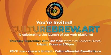 CultureBrew.Art Launch Party tickets