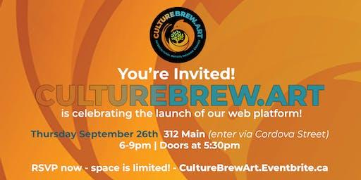 CultureBrew.Art Launch Party