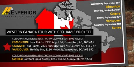 Corporate Overview - Jamie Prickett - Experior Financial tickets