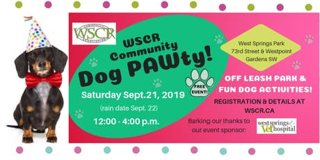 Community Dog PAWty tickets