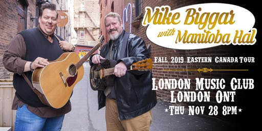 Mike Biggar with Manitoba Hal at The London Music Club