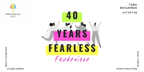 40 Years Fearless Fundraiser - Dublin Lesbian Line 40th Anniversary tickets
