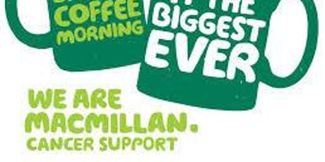 Macmillan Coffee Morning with Thermomix tickets