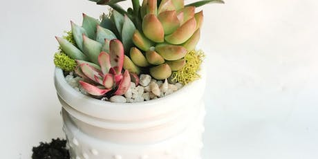 Planthropy Succulent Workshop at Jerome Village tickets