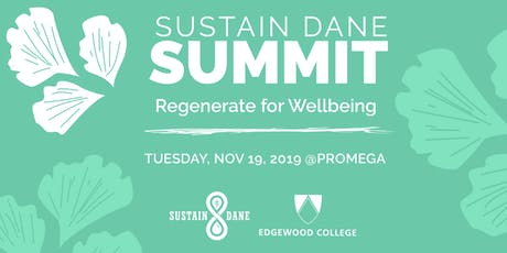 Sustain Dane Summit 2019: Regenerate for Wellbeing tickets