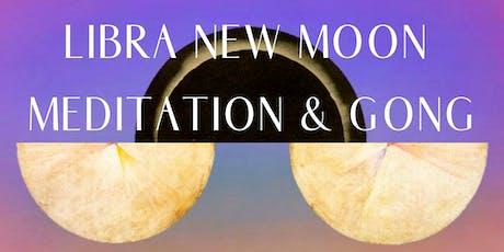 Libra New Moon Meditation & Sound Healing tickets