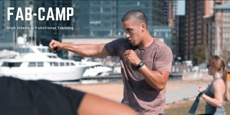 FABCAMP - Electric bootcamp on the water in Harbor East tickets