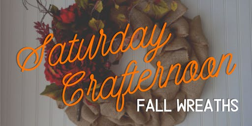 Saturday Crafternoon: Fall Wreaths