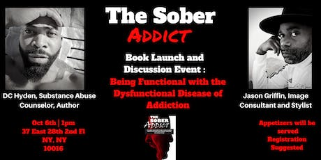 The Sober Addict: Book Launch Event and Discussion tickets
