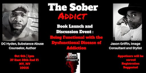 The Sober Addict: Book Launch Event and Discussion