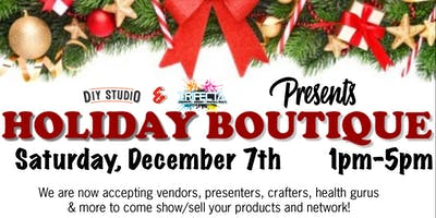 Holiday Boutique - Presented by Trifecta Ink & DIY Studio (VENDOR SPOT)
