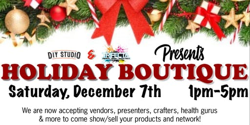 Holiday Boutique - Presented by Trifecta Ink & DIY Studio (VENDOR SPOT)