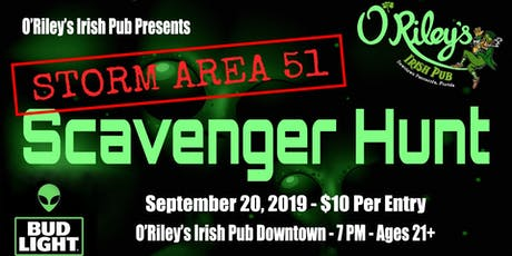 Gallery Night - Storm Area 51 Scavenger Hunt tickets
