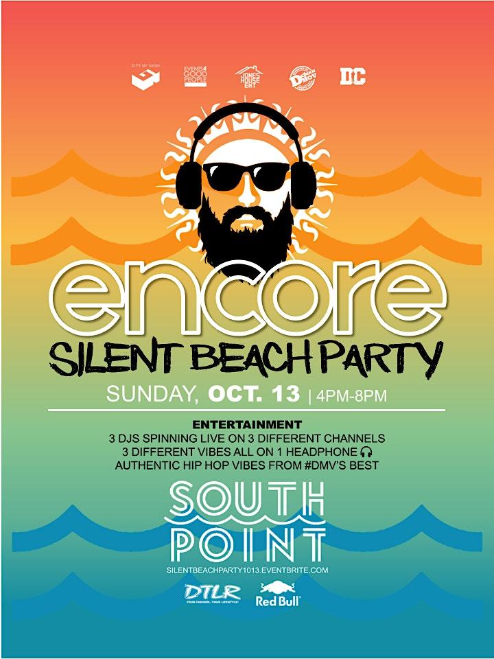 SILENT BEACH PARTY - ENCORE! image