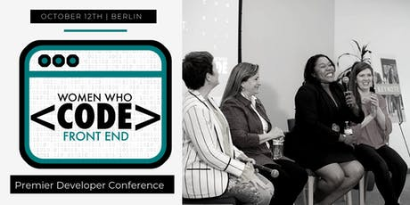 Women Who Code Front End 2019 tickets