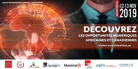 SITIC Africa-Canada 2019 billets