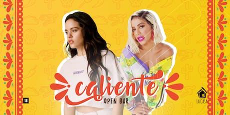 Caliente | Open Bar ingressos