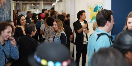 TriBeCa's 1st Thursdays Art Walk 6-9PM - Art Center with 100 artists FREE! tickets
