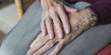 Curso para Cuidadores de Idosos na Doença de Parkinson ingressos