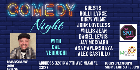 """Comedy Night with Cal Verduchi at """"The Spot""""  tickets"""