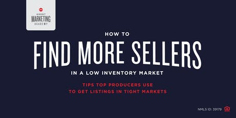 How to Find Sellers in a Low Inventory Market tickets