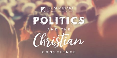 Stewart Custer Lecture Series: Politics and the Christian Conscience tickets