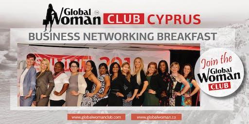 GLOBAL WOMAN CLUB CYPRUS: BUSINESS NETWORKING BREAKFAST - OCTOBER