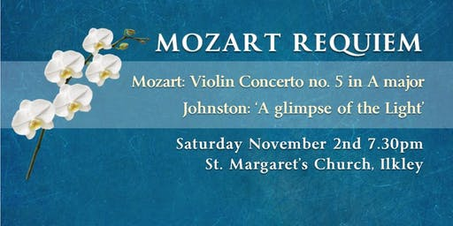 Concert: Mozart Requiem and Violin Concerto no 5 in A
