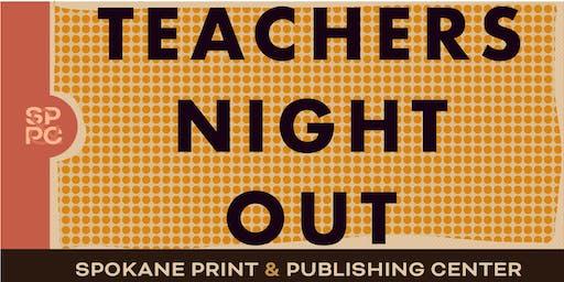 Teachers night out
