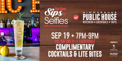 New Times' Sips N Selfies at Public House