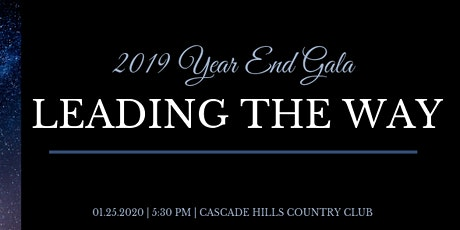Leading the Way - Grand Rapids Junior Chamber Year End Gala tickets