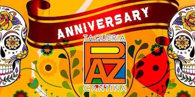 Paz Cantina 1 Year Anniversary