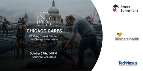 Chicago Cares | October Drive & Outreach for Our Homeless tickets