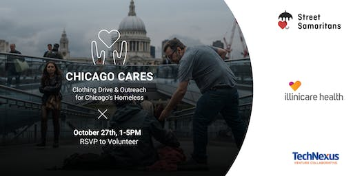 Chicago Cares | October Drive & Outreach for Our Homeless