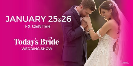 Today's Bride Jan 25 & 26th Cleveland Bridal Show tickets
