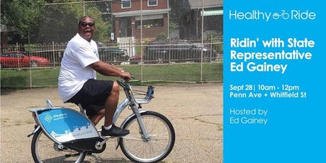 Ridin' with State Representative Ed Gainey tickets