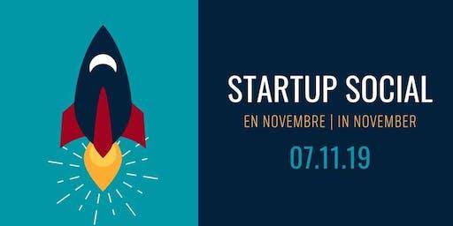 Startup Social: en novembre | in November