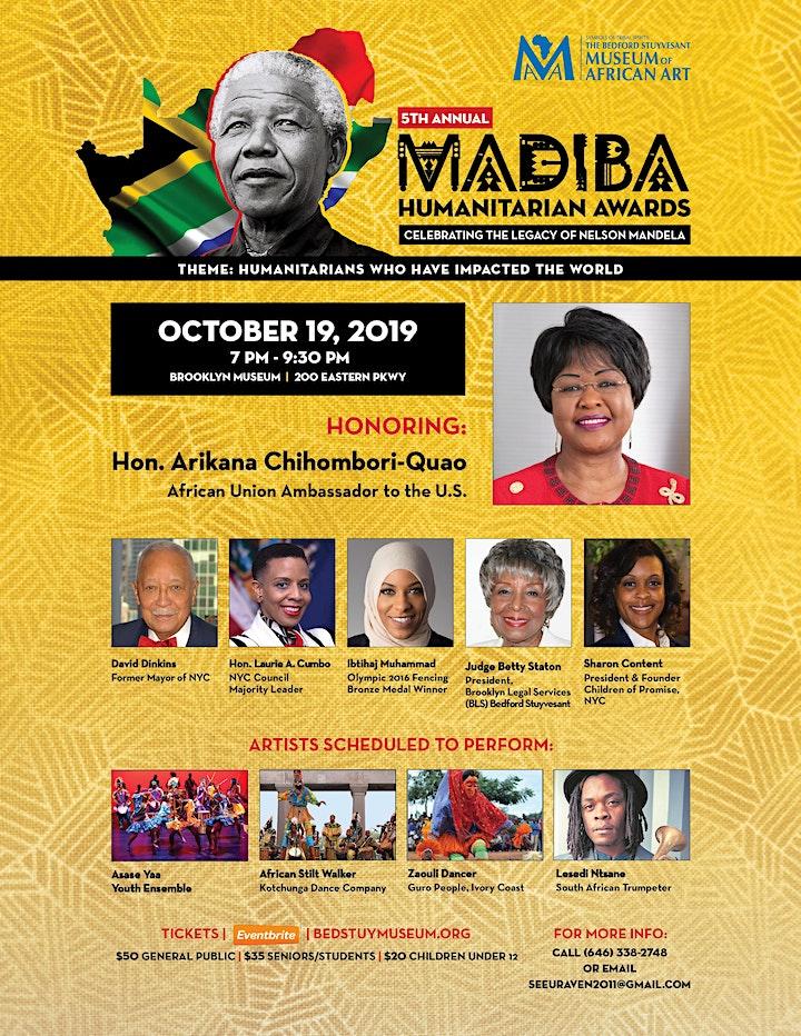 5th Annual Madiba Humanitarian Awards Ceremony image