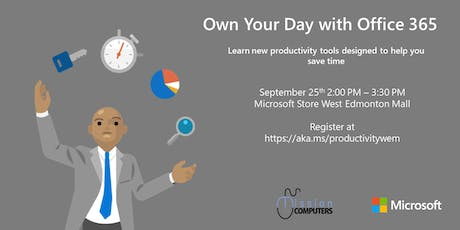 Own Your Day with Office 365 tickets